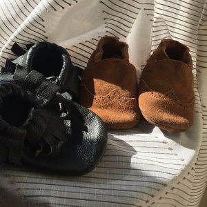 Other - Soft Sole Moccasins (2 pairs)